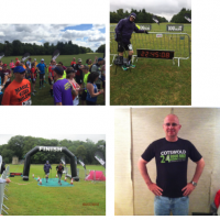 David Hughes runs 50 miles in 24 hours for charity Headway