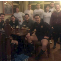 Which team got a thrashing at last week's 5-a-side match, Blake Morgan or us ….