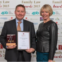 Rhys Taylor named Commentator of the Year 2015 at Family Law Awards